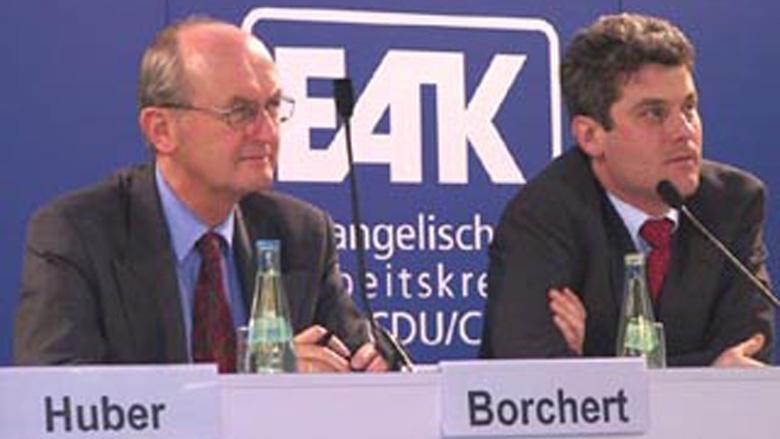 v.l. Jochen Borchert, Dr. Gerd Kempermann