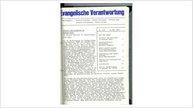 Titelbild: Heft 3+4/1969