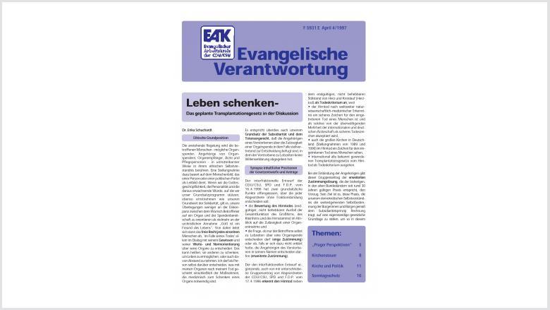 Titelbild: Heft 4/ 1997