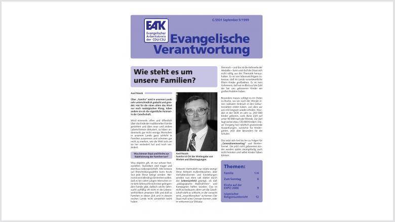 Titelbild: Heft 9/ 1999