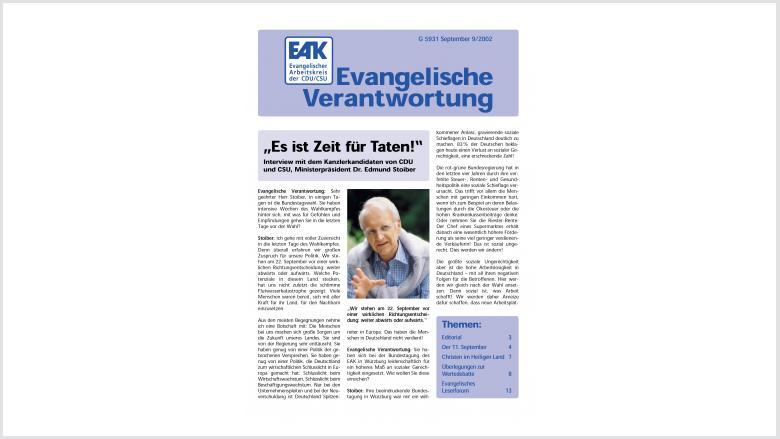 Titelbild: Heft 0/ 2002
