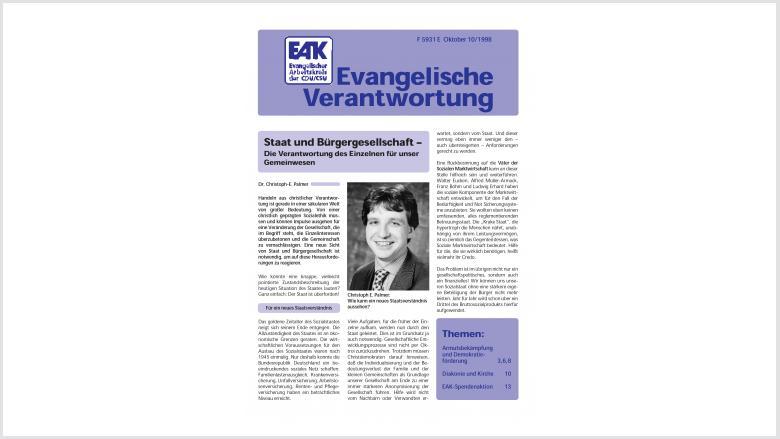 Titelblatt: Heft 10/ 1998