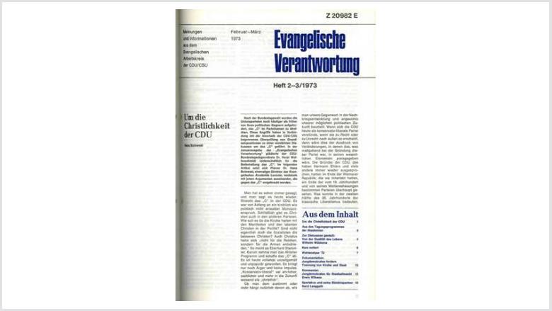 Titelbild: Heft 1+2/ 1973
