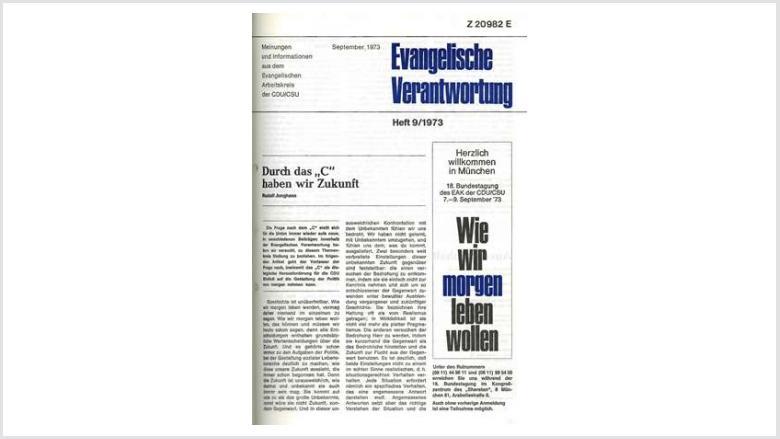 Titelbild: Heft 9+10/ 1973