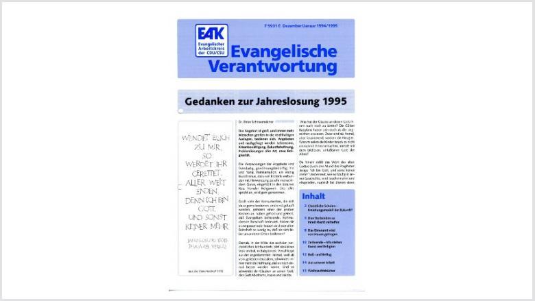 Titelbild: Heft 1+2/ 1995