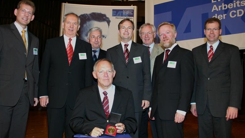 Bundesminister Dr. Wolfgang Schäuble