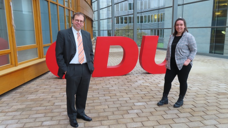 Die Bundesgeschäftsstelle des Evangelischen Arbeitskreises der CDU/CSU