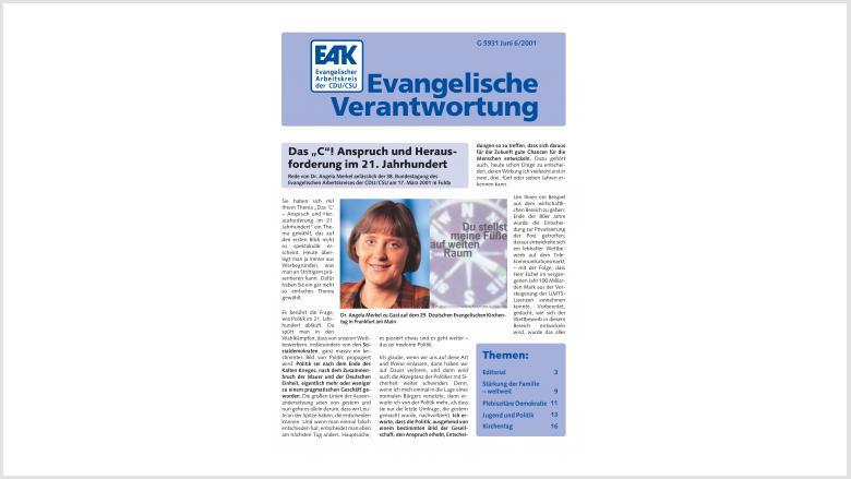Titelbild: Heft 0/ 2001