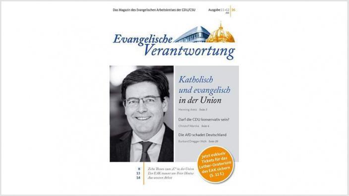 Cover, EV Heft 11+12 2016
