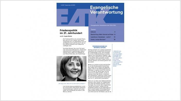 Titelbild: Heft 0/ 2003
