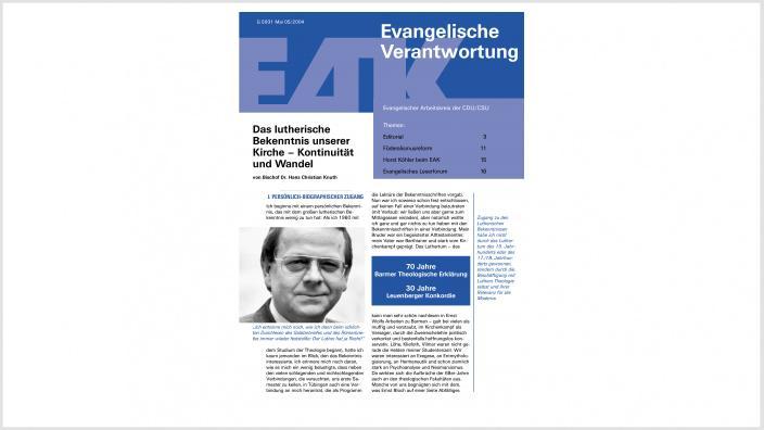 Titelbild: Heft 0/ 2004